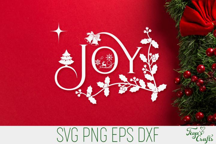 Joy Christmas SVG | Christmas SVG Quote