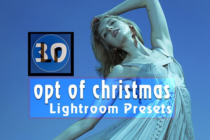 Opt of Christmas Lightroom Presets