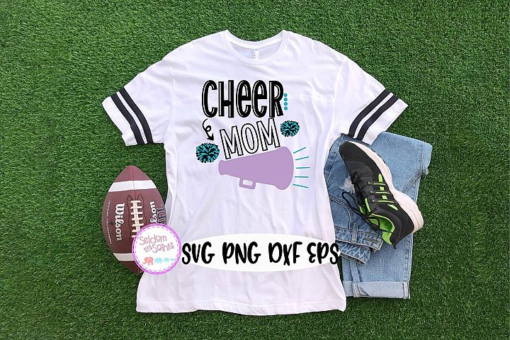 Cheer Mom SVG PNG DXF EPS