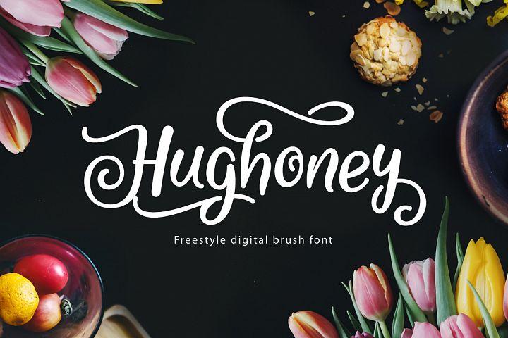 Hughoney Script