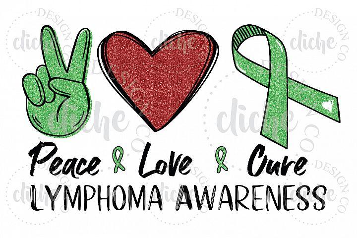 Lymphoma Awareness Sublimation Design