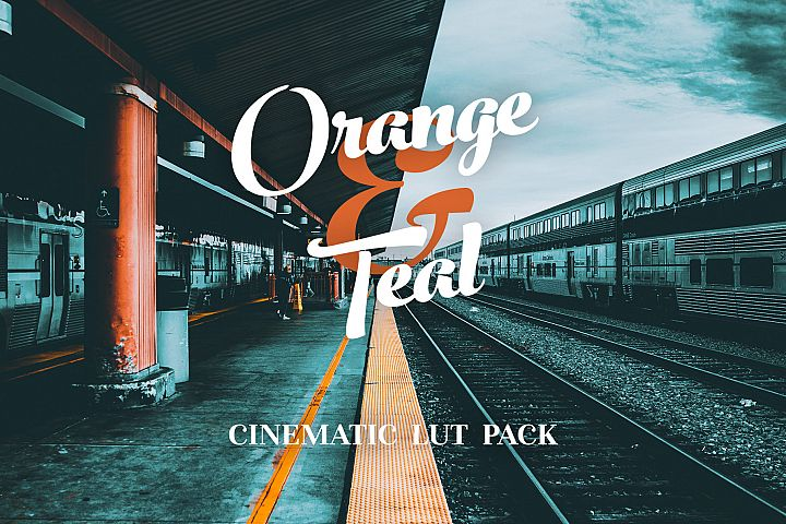 Orange & Teal LUTS Pack for videos