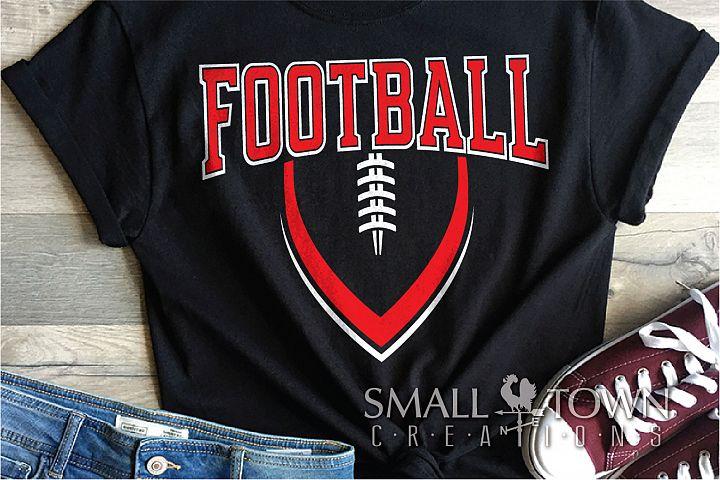Football, Ball, Team, Sports, Logo, PRINT, CUT & DESIGN