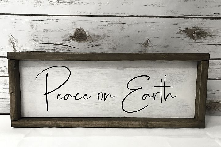 Peace on Earth - SVG EPS PNG