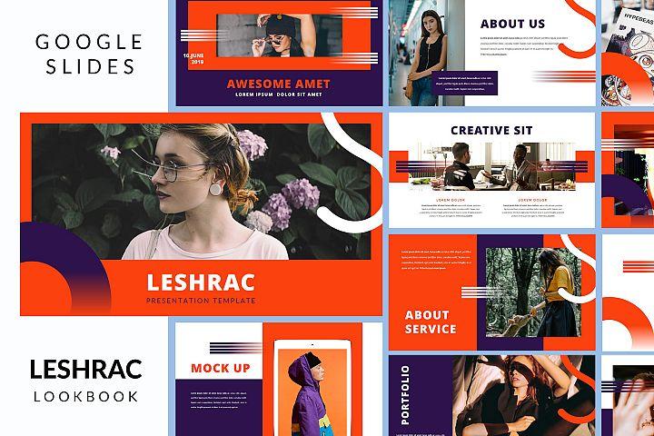 Leshrac - Lookbook Google Slides