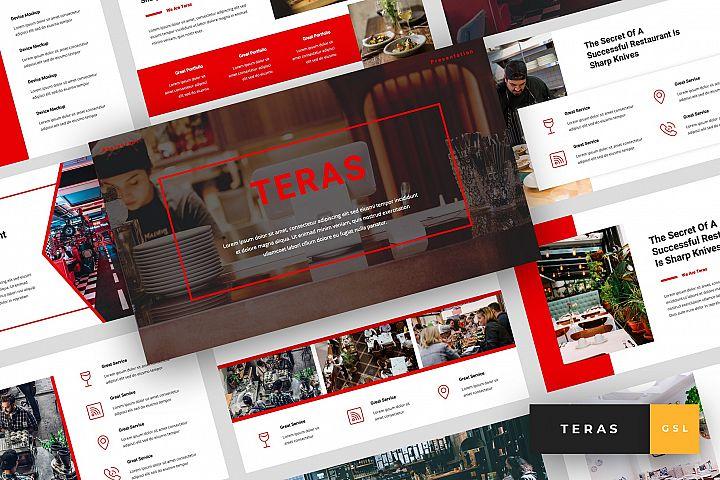 Teras - Restaurant Google Slides Template
