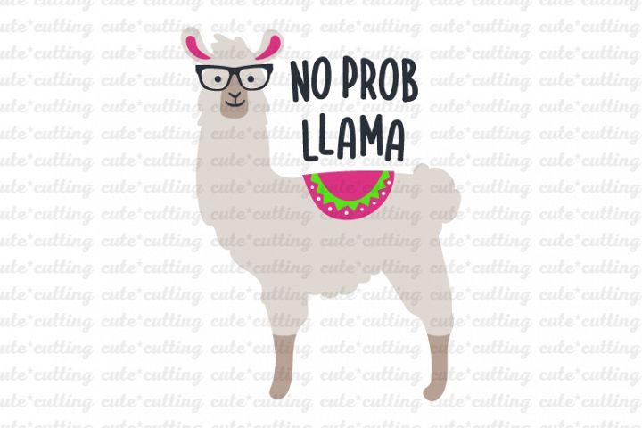 Llama, Alpaca, no prob llama svg