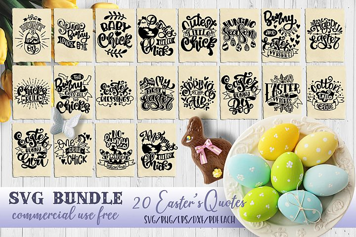 Easter svg bundle Bunny SVG for t-shirt Design Easters quote