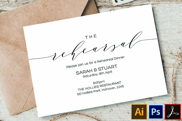 Rehearsal Dinner Invitation Printable weddings rehearsal