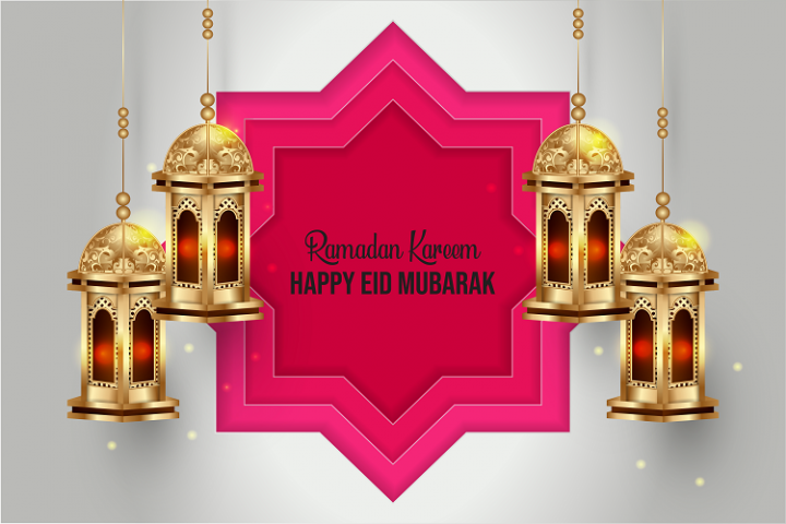 Ramadan Karem and Happy Eid Mubarak