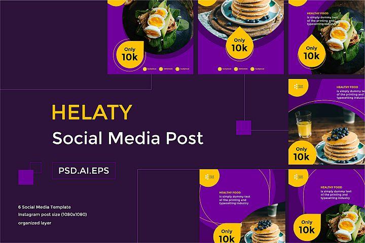 HELATY Social Media Post