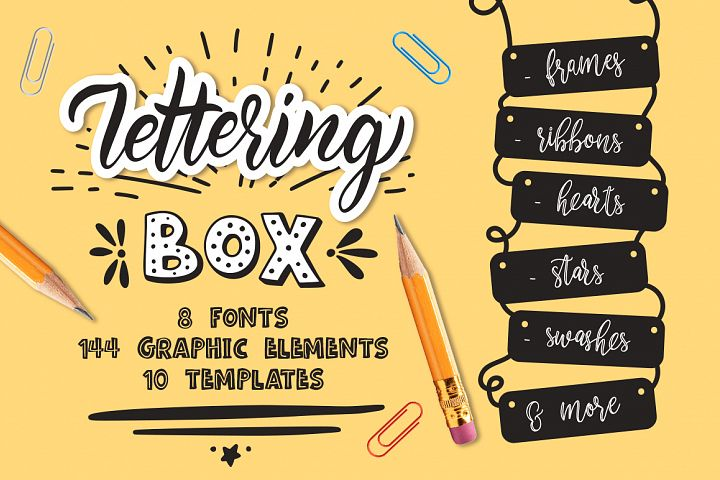Lettering box