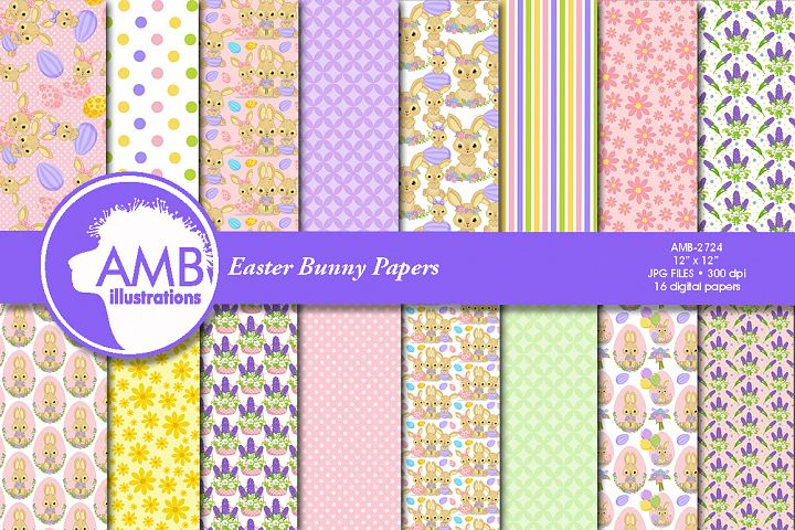 Easter Bunny papers, Bunny papers, AMB-2724