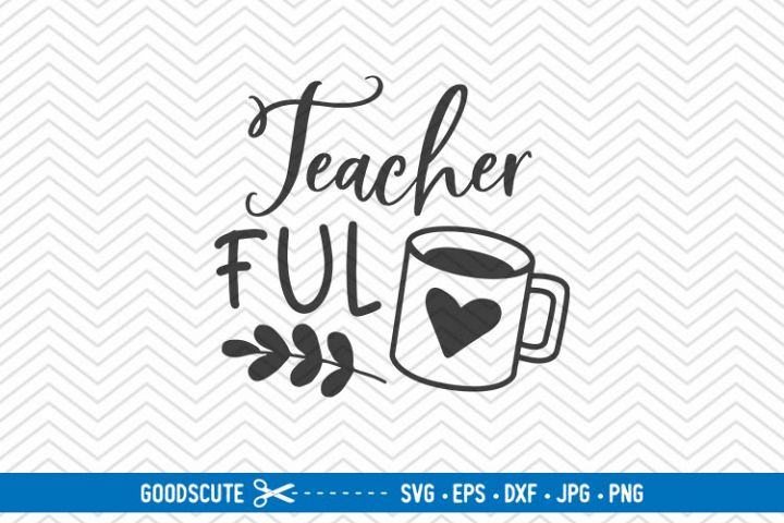 Teacher Fuel - SVG EPS DXF PNG JPG