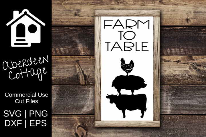 Farm to Table 2 SVG