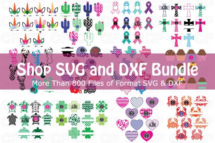 Christmas Bundle SVG, Shop Bundle, Monongram Bundle, Bundle
