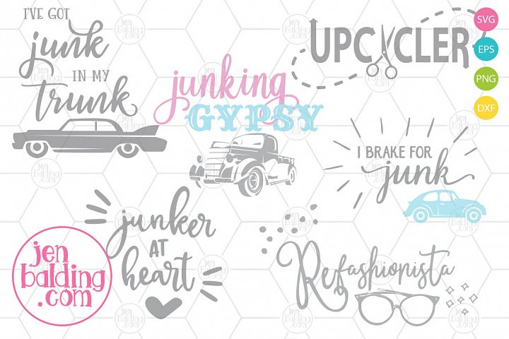 Junking SVG Bundle