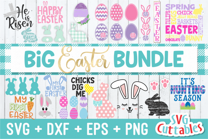 Big Easter Bundle| Easter svg Cut Files