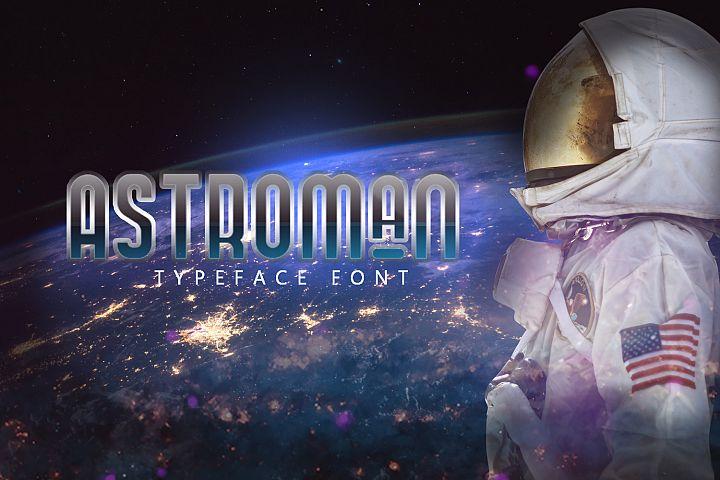Astroman Typeface