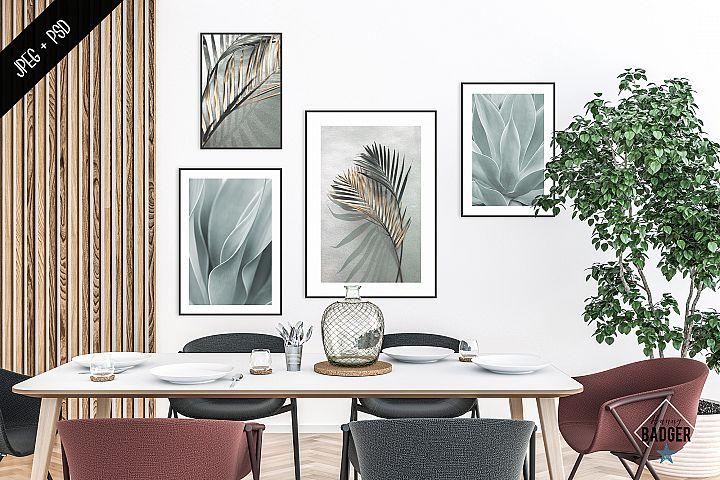 Interior mockup - frame mockup creator - all image size