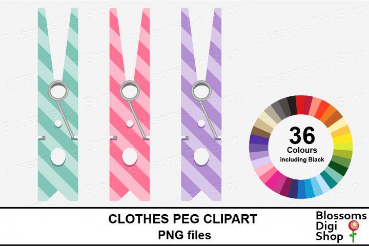 Clothes Peg/ Pin Clipart