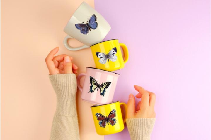 Vintage Butterflies llustrations, Retro Butterfly, Victorian