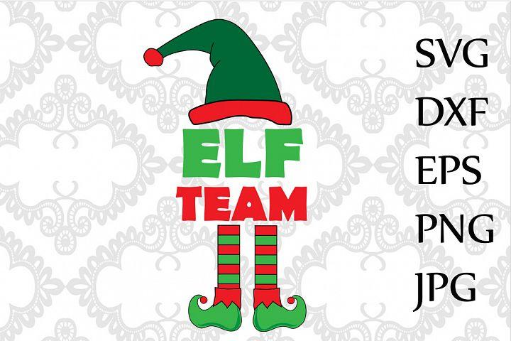 Elf Team Svg