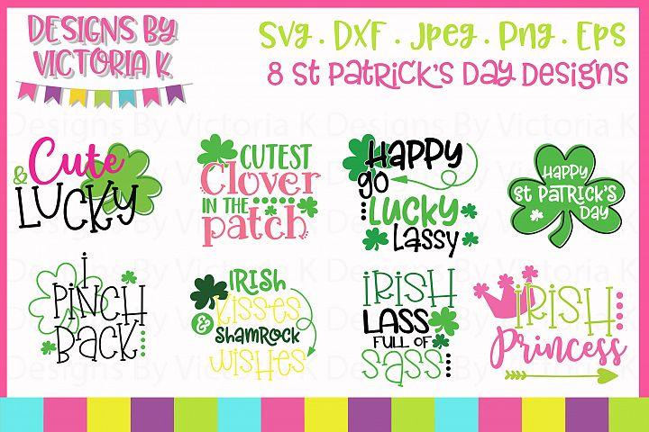 St Patricks Day Bundle, SVG, DXF,