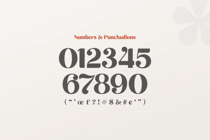 michael beautiful ligature font example image 14