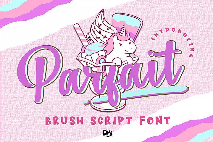 Parfait - Brush Script Font