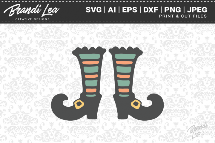 Witch Boots SVG Cutting Files