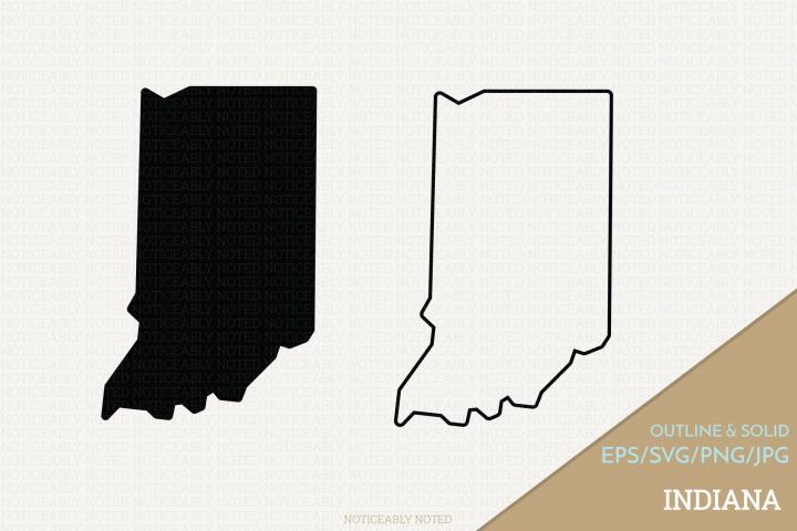 Indiana Vector / Clip Art