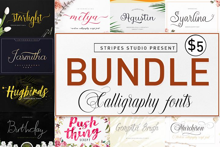 Bundle Calligraphy