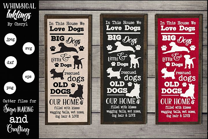 All Dogs SVG