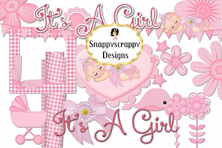 New Baby Girl Clipart