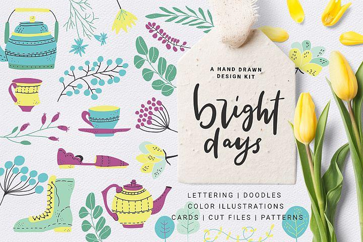 Bright Days - spring design kit