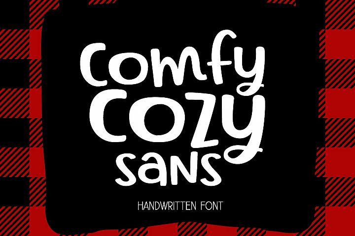 Comfy Cozy Sans Handwritten Font