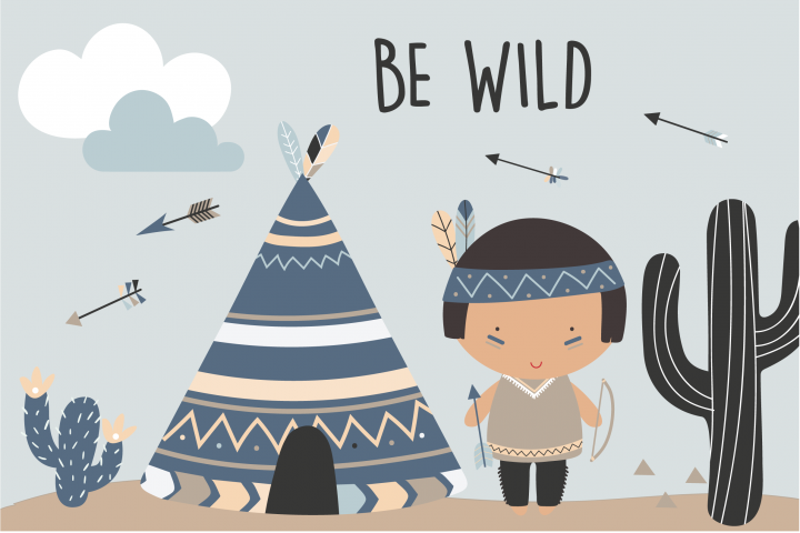 Be Wild -Tribal boys pack