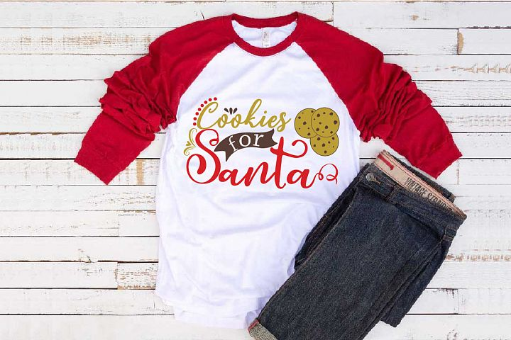 Cookies For Santa Svg, The Giving Plate Christmas 1105S