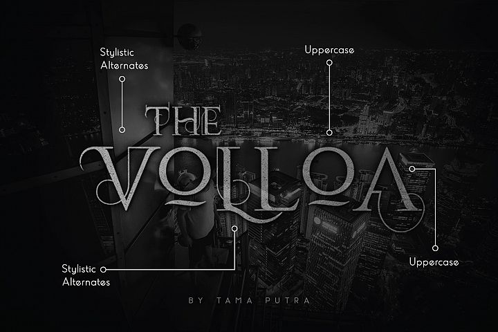Volloa Decorative Serif Typeface