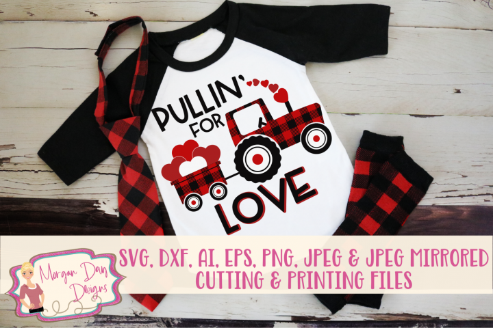Pullin For Love SVG, DXF, AI, EPS, PNG, JPEG
