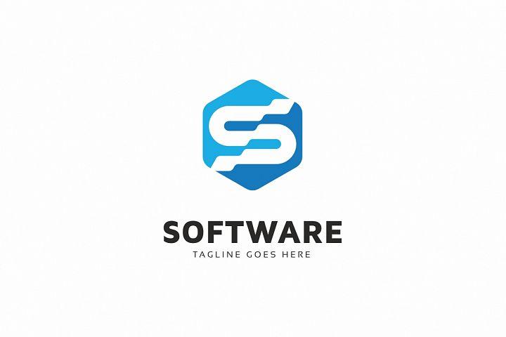 Software S Letter Logo