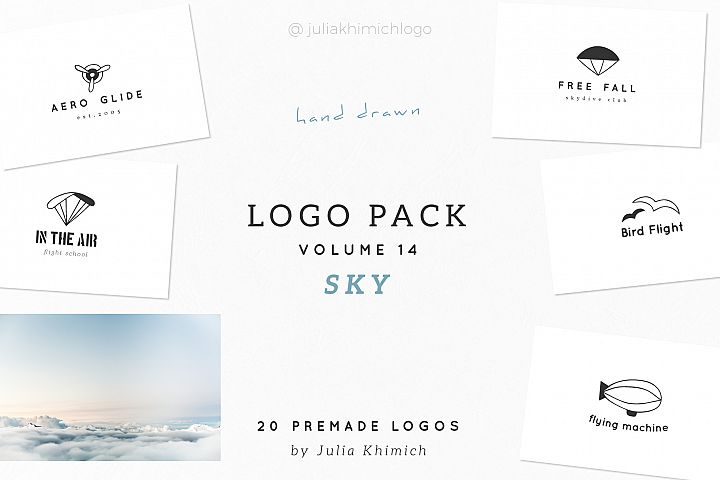 Logo Pack Volume 14. Sky