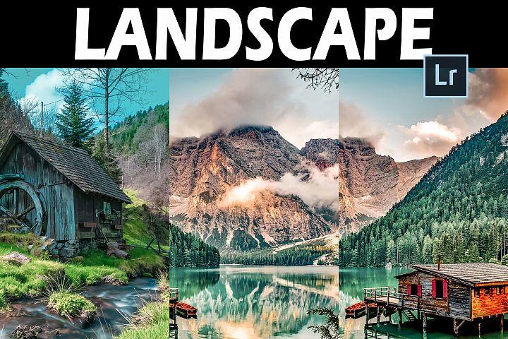 25 Landscape Desktop Lightroom Presets and ACR Presets
