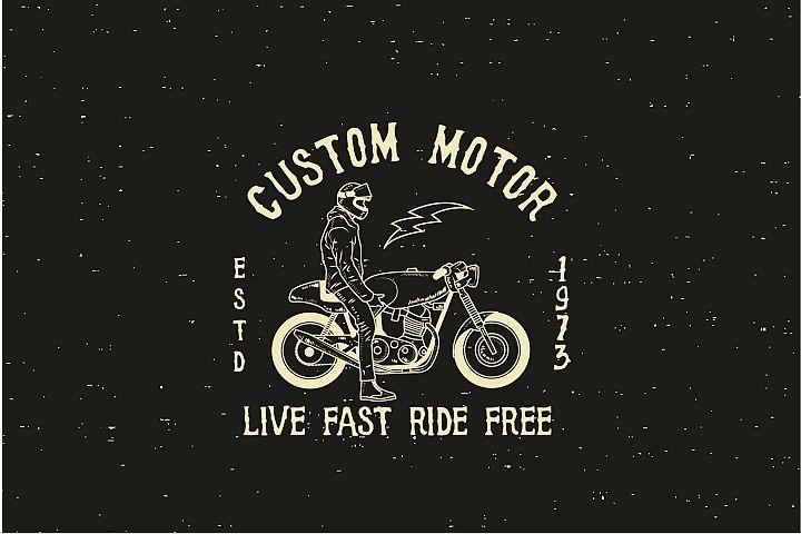 Custom Motor - Logo template