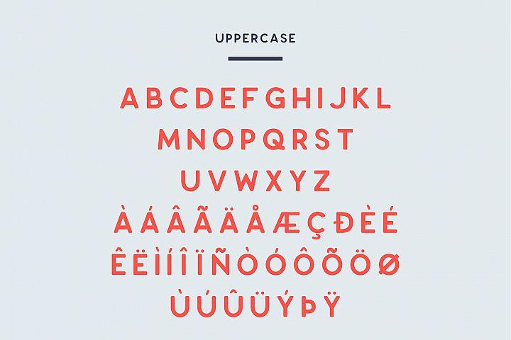 Enrique - 8 Fonts Fashionable Elegant Sans Serif Font example image 2