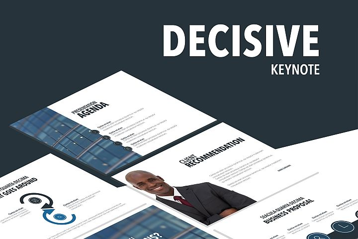 Decisive Keynote Template