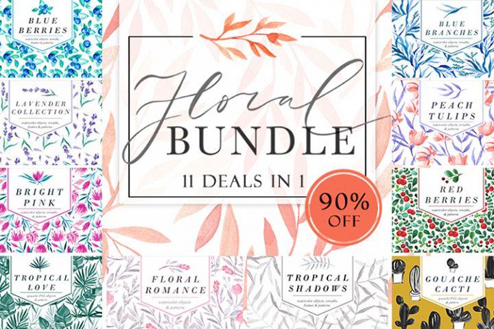 Floral Bundle - 11 deals in 1