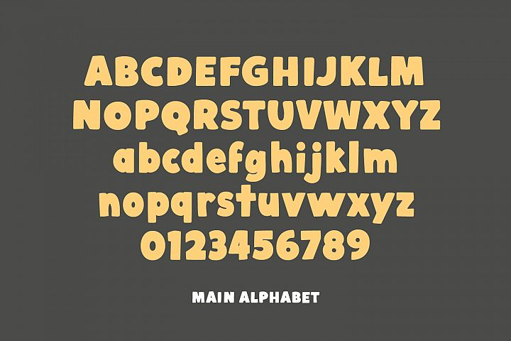 Cobnut - a nutty, bold and fun font example image 3