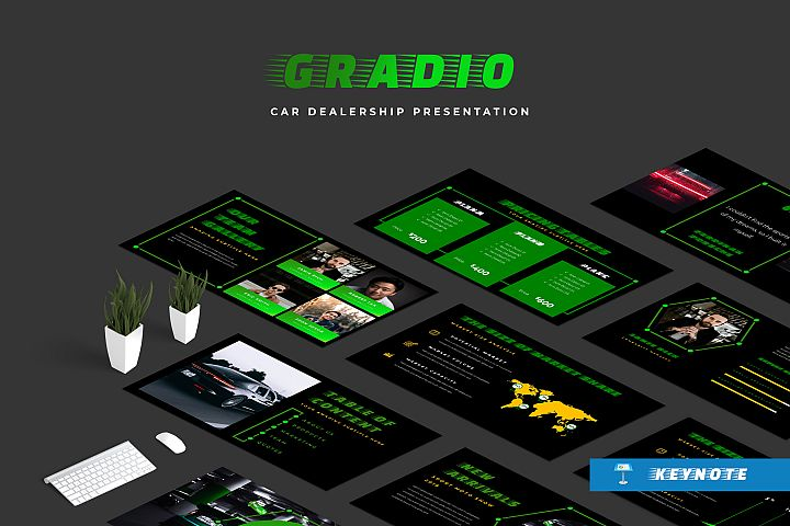 Gradio Cars Dealership Keynote Presentation